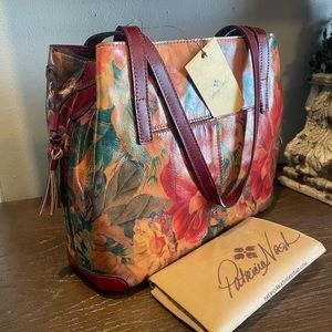 NWT Patricia Nash Heritage Collection Kemble tote